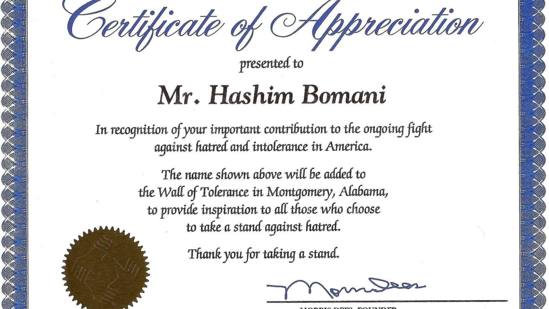 004 Template Ideas Certificates Of Appreciation Templates For Template For Recognition Certificate