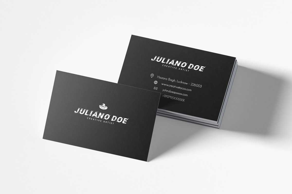 100+ Free Creative Business Cards Psd Templates With Regard To Creative Business Card Templates Psd