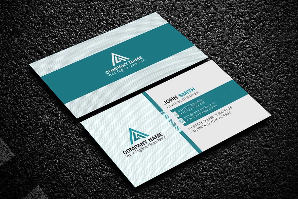 100+ Free Creative Business Cards Psd Templates Within Psd Name Card Template