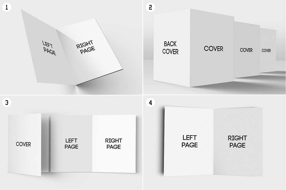 11+ Folded Card Designs & Templates - Psd, Ai | Free With Regard To Fold Over Place Card Template