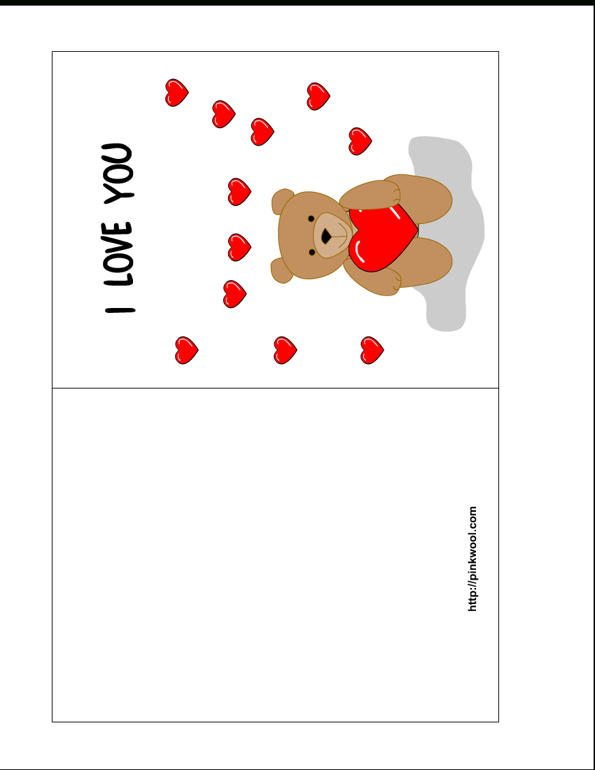 13 Free Card Templates For Printing Images - Valentine's Day Pertaining To Free Templates For Cards Print