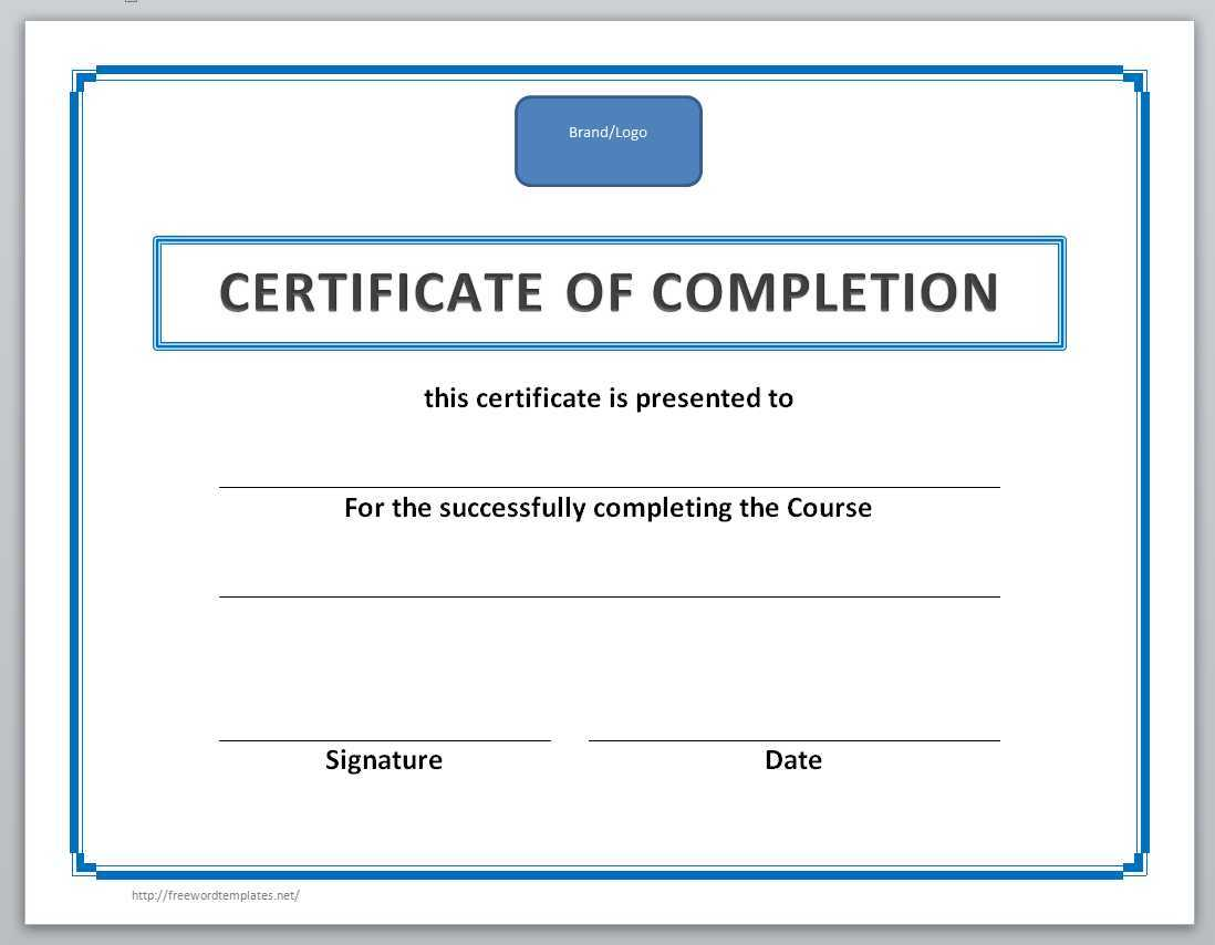 13 Free Certificate Templates For Word » Officetemplate Pertaining To Microsoft Office Certificate Templates Free