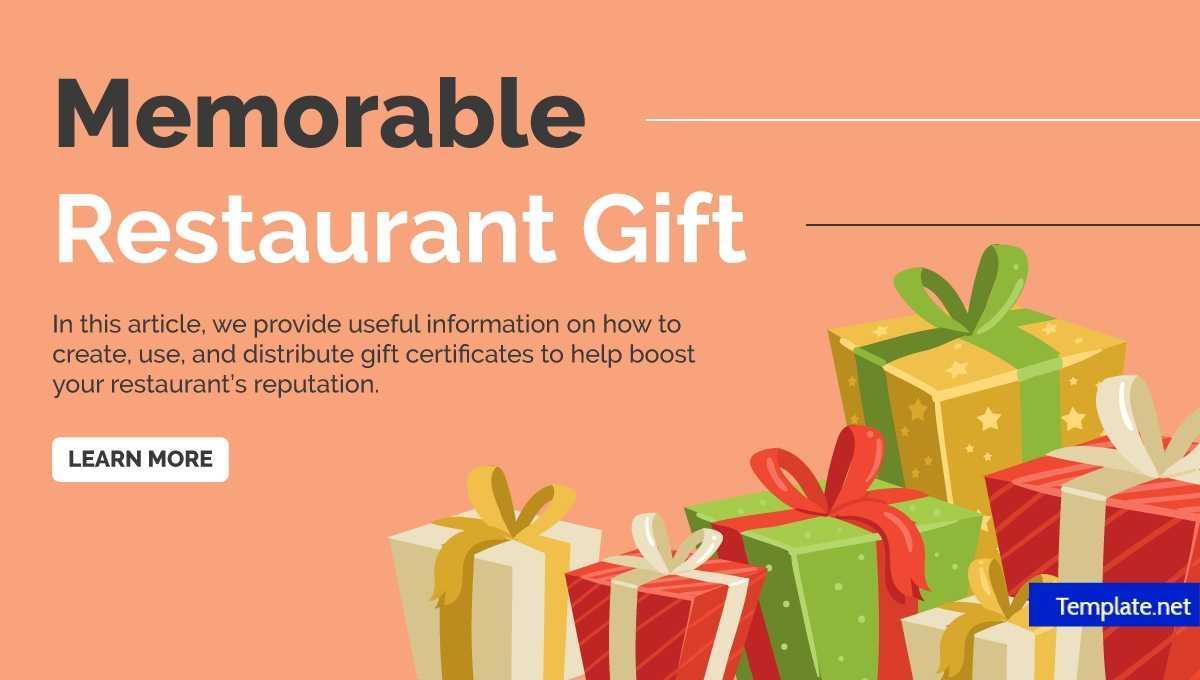 14+ Restaurant Gift Certificates | Free & Premium Templates Within Restaurant Gift Certificate Template