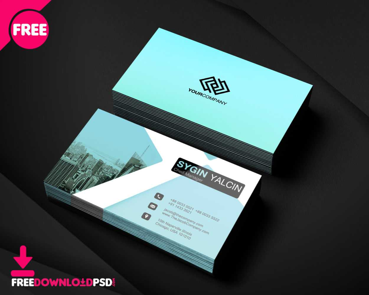 150+ Free Business Card Psd Templates With Office Max Business Card Template