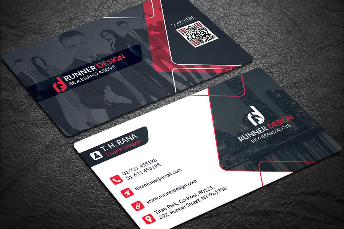 200 Free Business Cards Psd Templates - Creativetacos With Name Card Template Psd Free Download