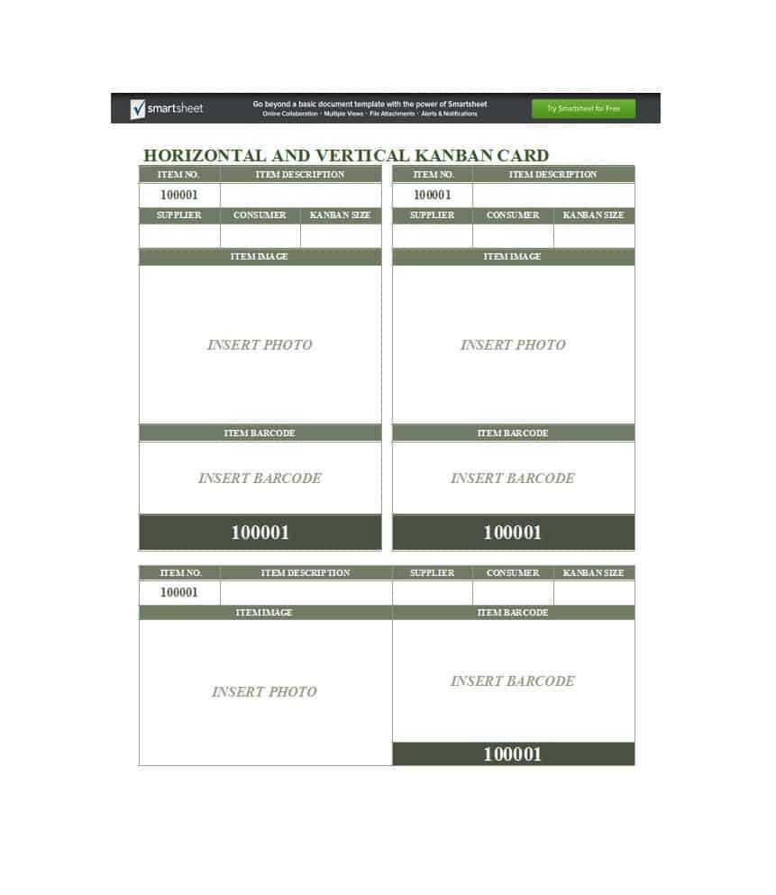 25 Printable Kanban Card Templates (& How To Use Them) ᐅ Pertaining To Kanban Card Template