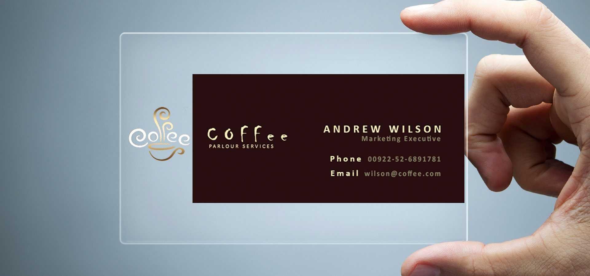 26+ Transparent Business Card Templates - Illustrator, Ms For Transparent Business Cards Template