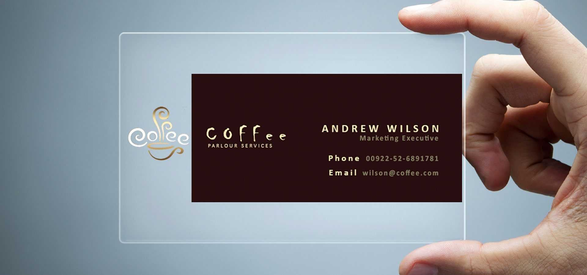 26+ Transparent Business Card Templates - Illustrator, Ms With Regard To Microsoft Office Business Card Template
