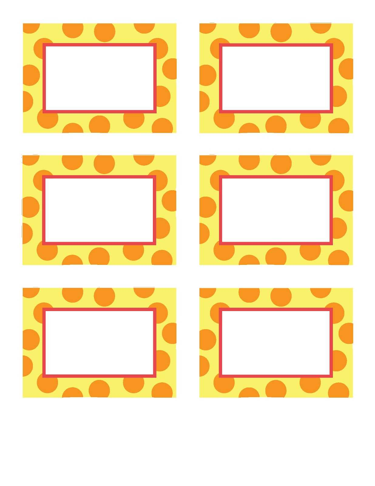 28+ [ Celebrate It Place Cards Template ] | Place Cards Inside Michaels Place Card Template