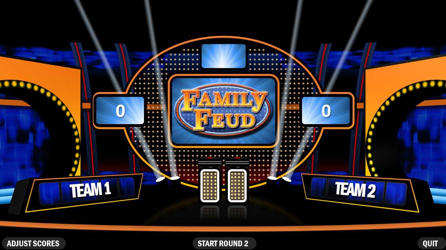 3 Best Free Family Feud Powerpoint Templates with regard to Family Feud Game Template Powerpoint Free