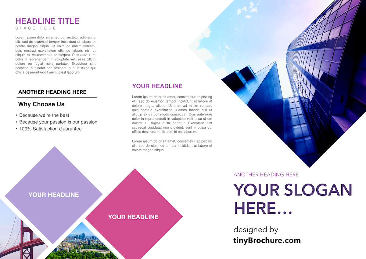 3 Panel Brochure Template Google Docs For Google Doc Brochure Template