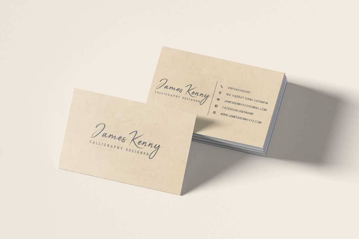 30+ Clean Minimalistic Business Card Psd Templates Within Paper Source Templates Place Cards