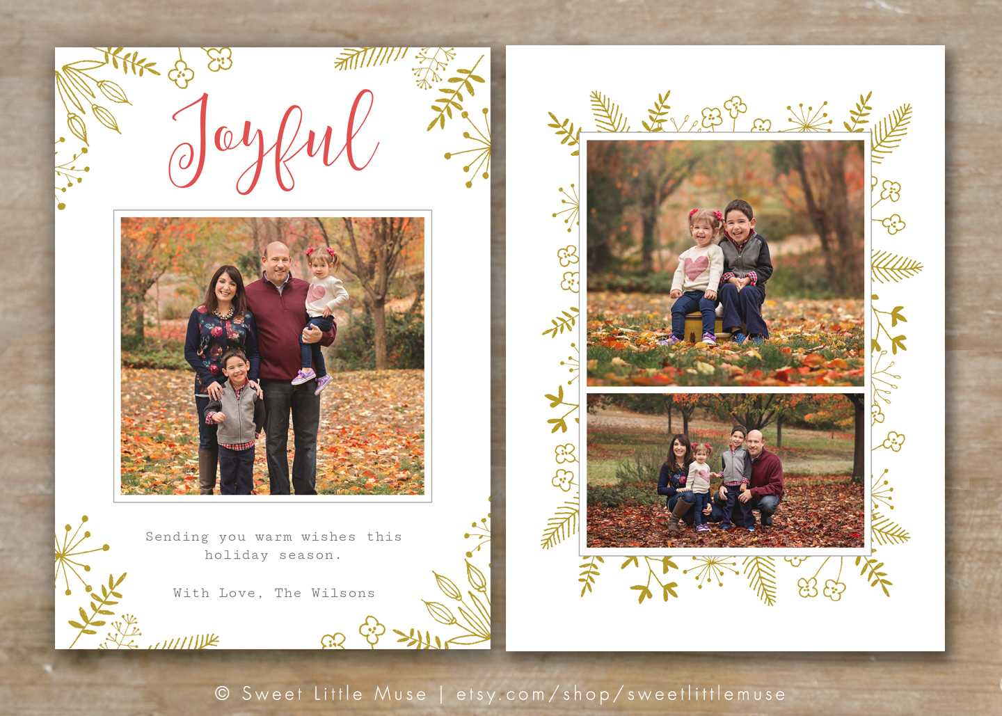 30 Holiday Card Templates For Photographers To Use This Year Inside Holiday Card Templates For Photographers