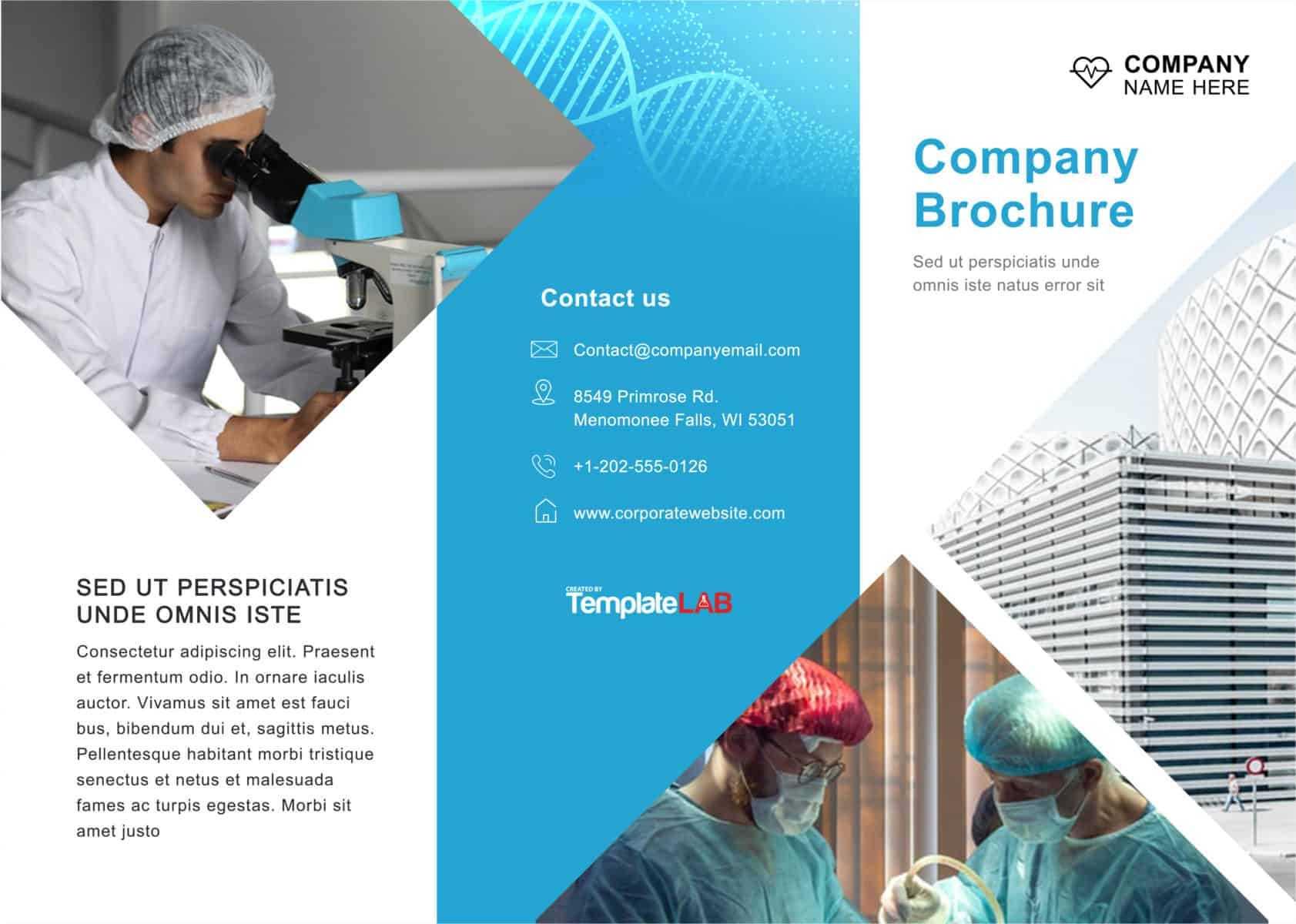 33 Free Brochure Templates (Word + Pdf) ᐅ Templatelab Regarding Engineering Brochure Templates Free Download