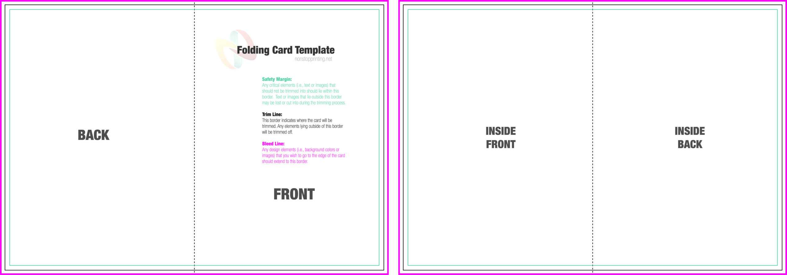 39 Online Folding Card Template For Word Now With Folding Throughout Foldable Card Template Word