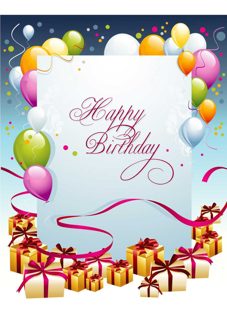 40+ Free Birthday Card Templates ᐅ Templatelab With Birthday Card Template Microsoft Word