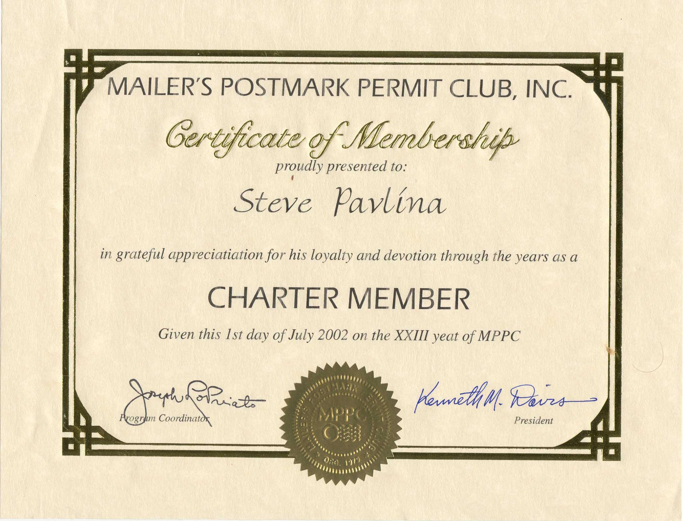5+ Free Printable Certificate Of Membership Template For Llc Membership Certificate Template Word
