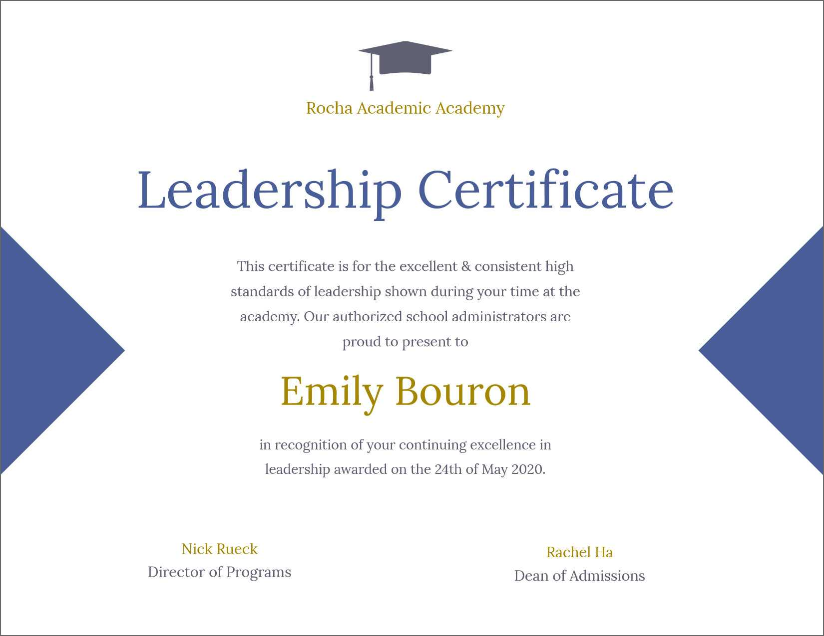 50 Free Creative Blank Certificate Templates In Psd With Regard To Leadership Award Certificate Template