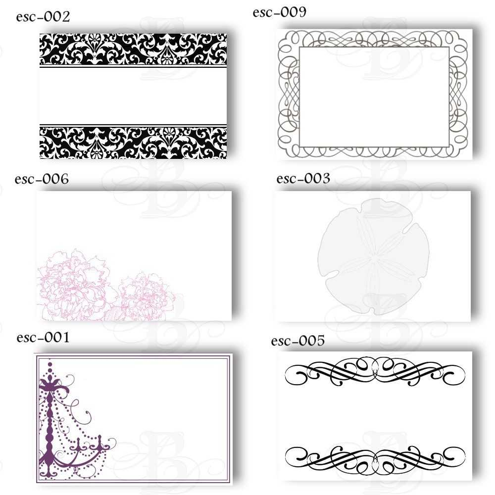 6 Best Images Of Free Printable Wedding Place Cards – Free In Free Templates For Cards Print