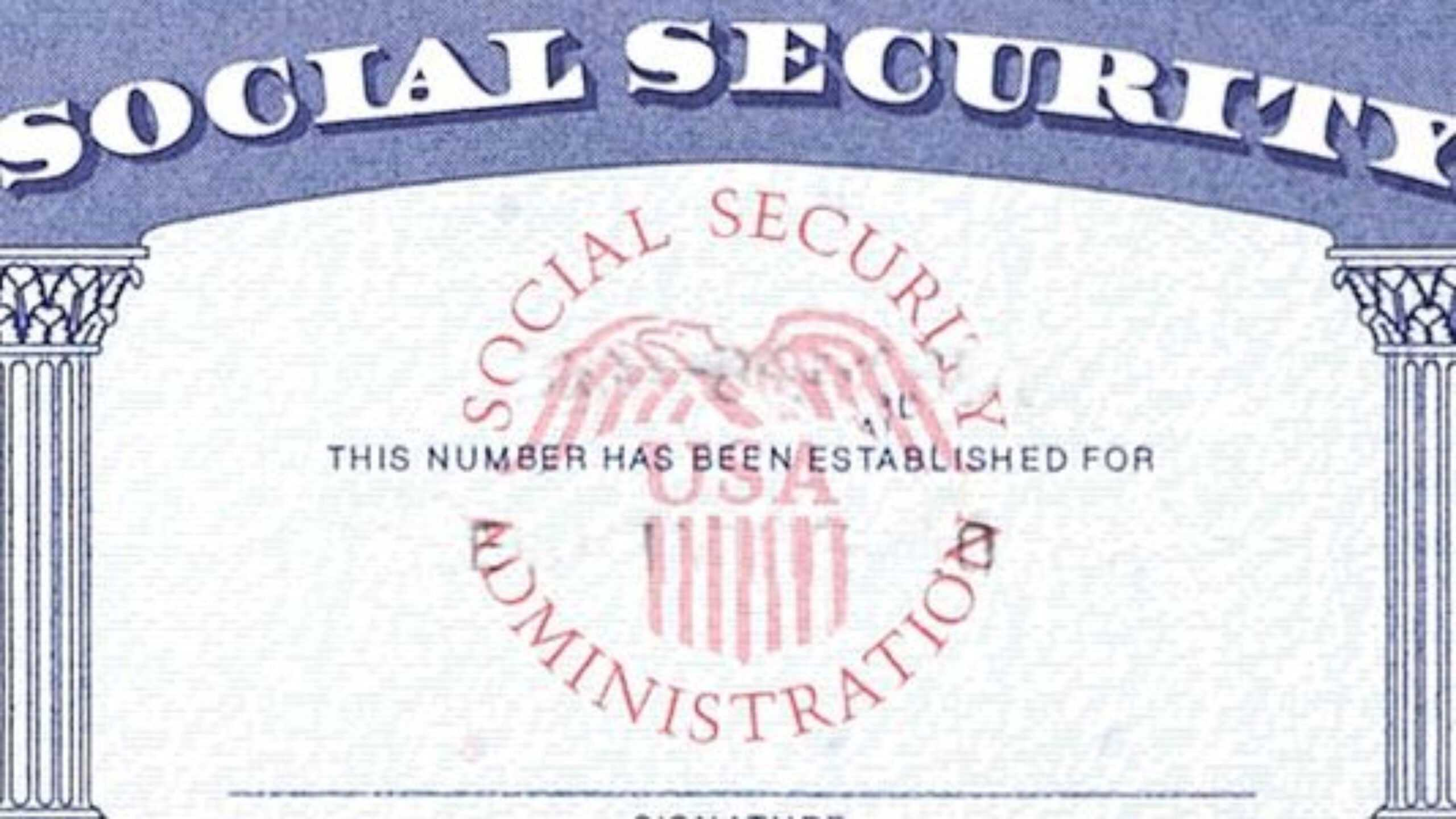 7 Social Security Card Template Psd Images - Social Security Intended For Social Security Card Template Pdf