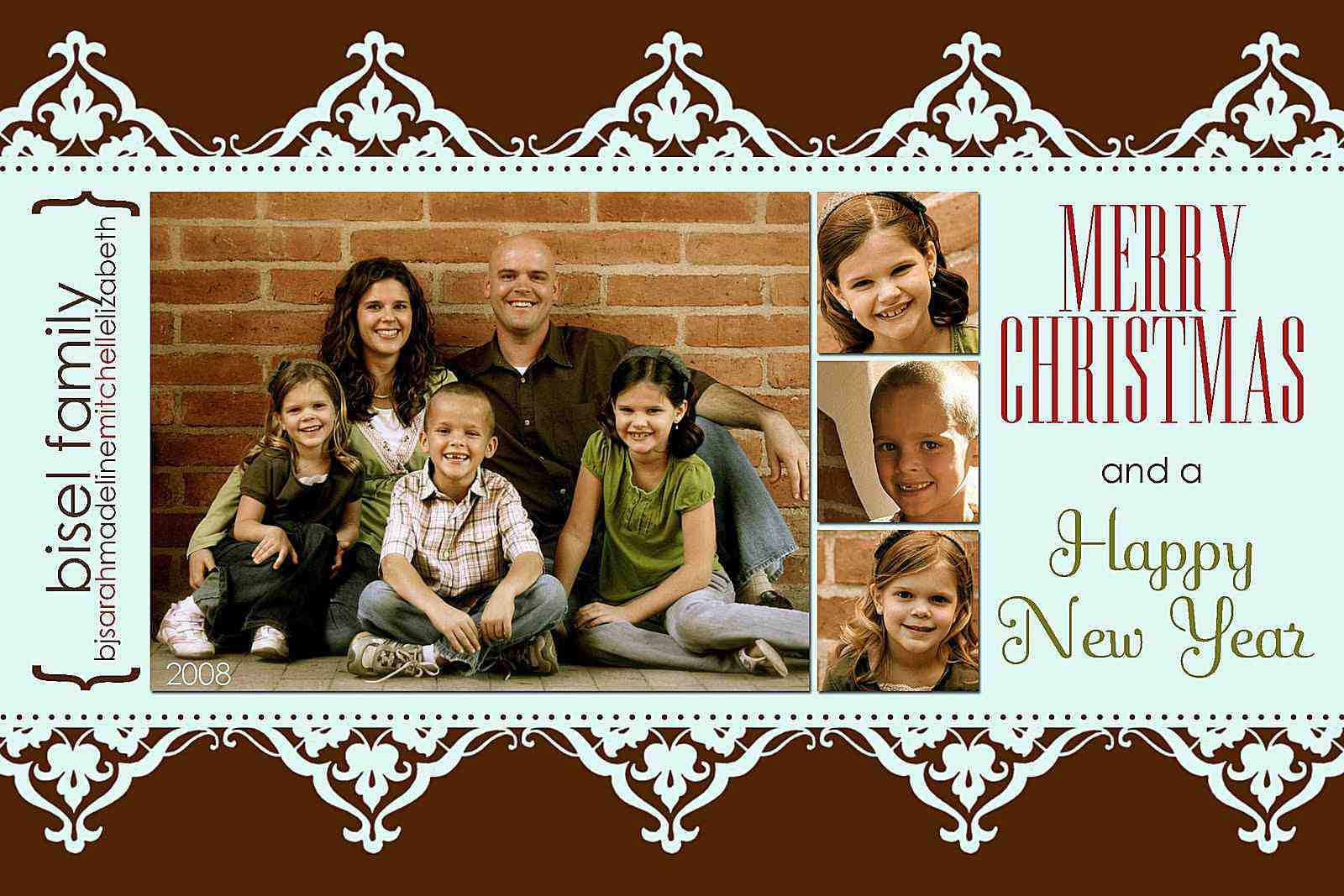 88 Visiting 4X6 Christmas Card Template Free Formating With Regard To 4X6 Photo Card Template Free