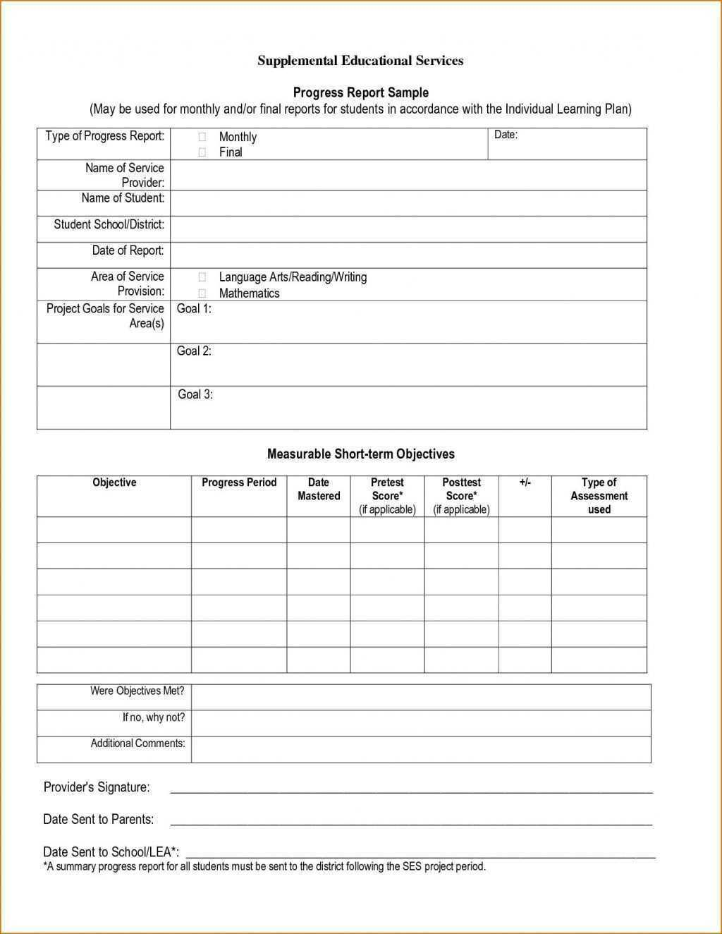 94 Free Homeschool Middle School Report Card Template Free intended for Middle School Report Card Template