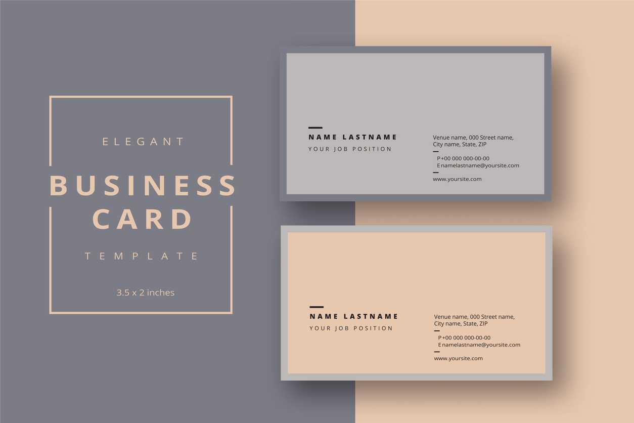 Add Your Logo To A Business Card Using Microsoft Word Or In Pages Business Card Template