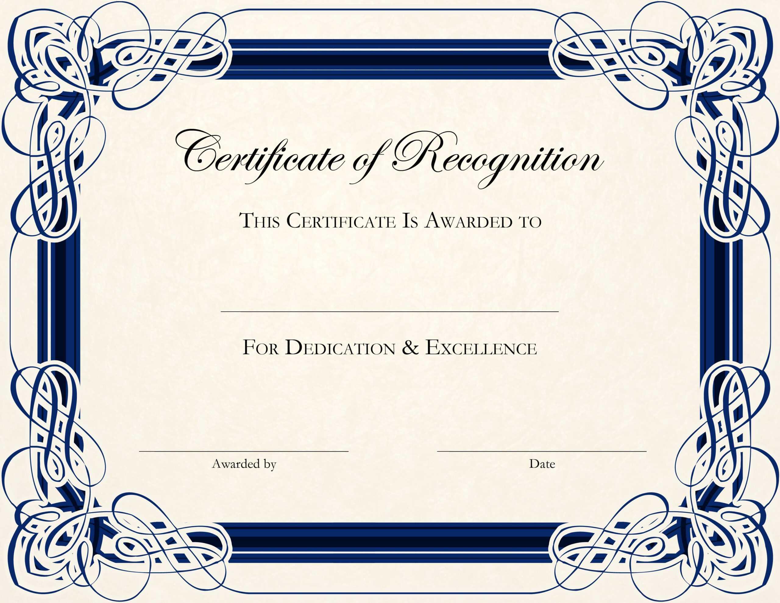 Anniversary Certificate Template Free - Karati.ald2014 With Regard To Anniversary Certificate Template Free
