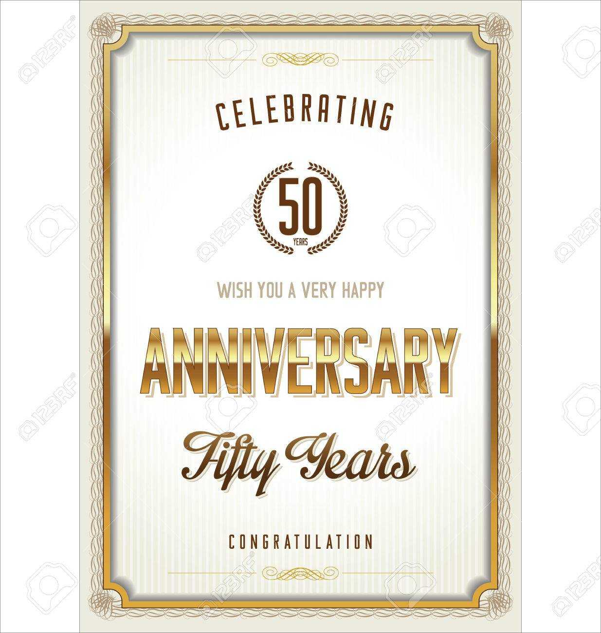 Anniversary Certificate Template Inside Anniversary Certificate Template Free