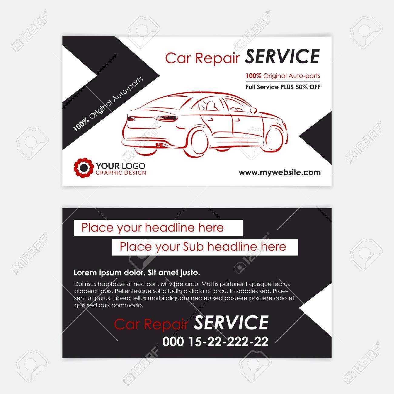 Automotive Repair Business Cards - Karan.ald2014 Pertaining To Automotive Business Card Templates