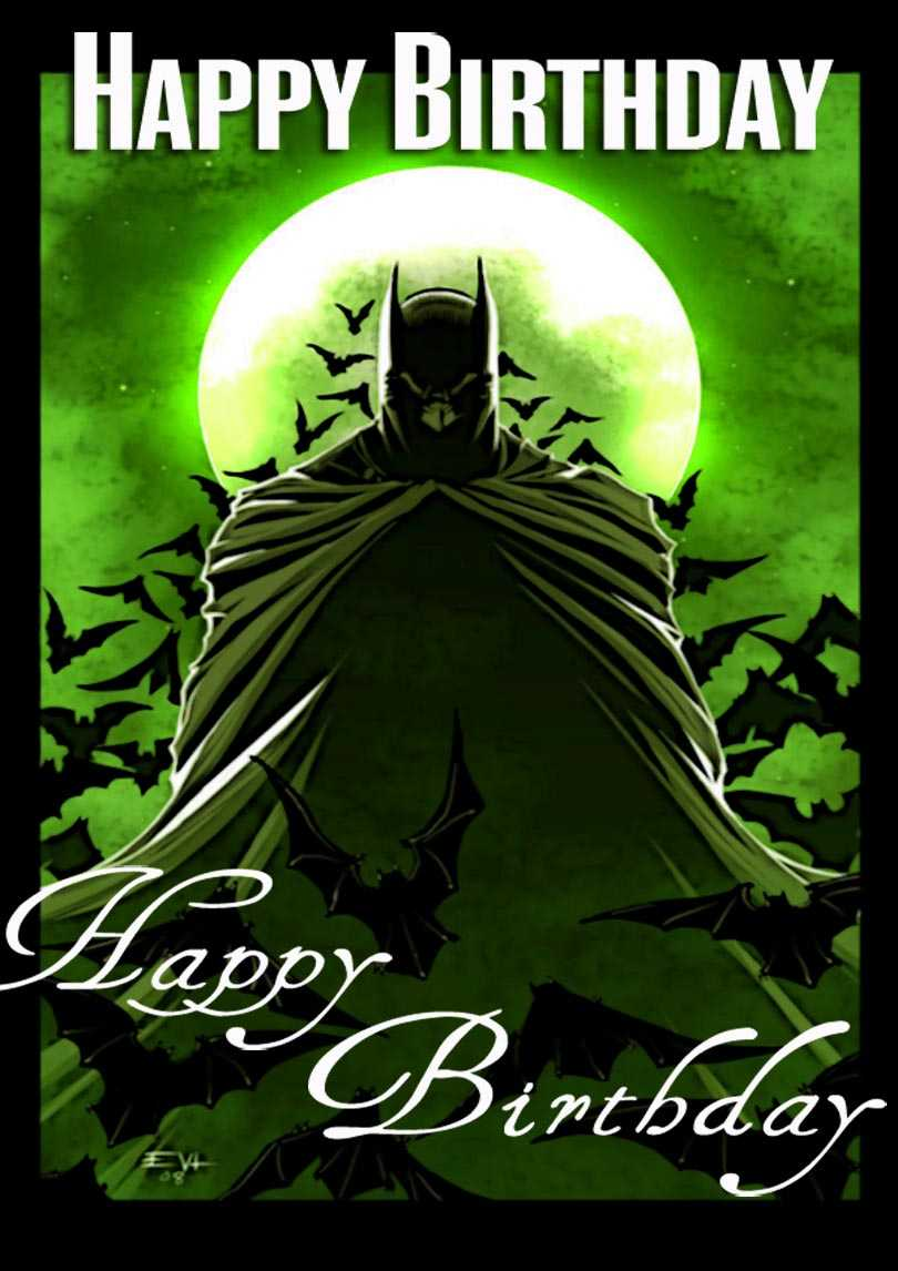 Batman Birthday Card | Free Printable Birthday Cards Within Batman Birthday Card Template