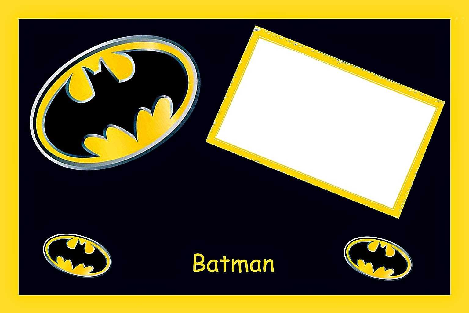 Batman Birthday: Free Printable Cards Or Invitations. - Oh With Batman Birthday Card Template