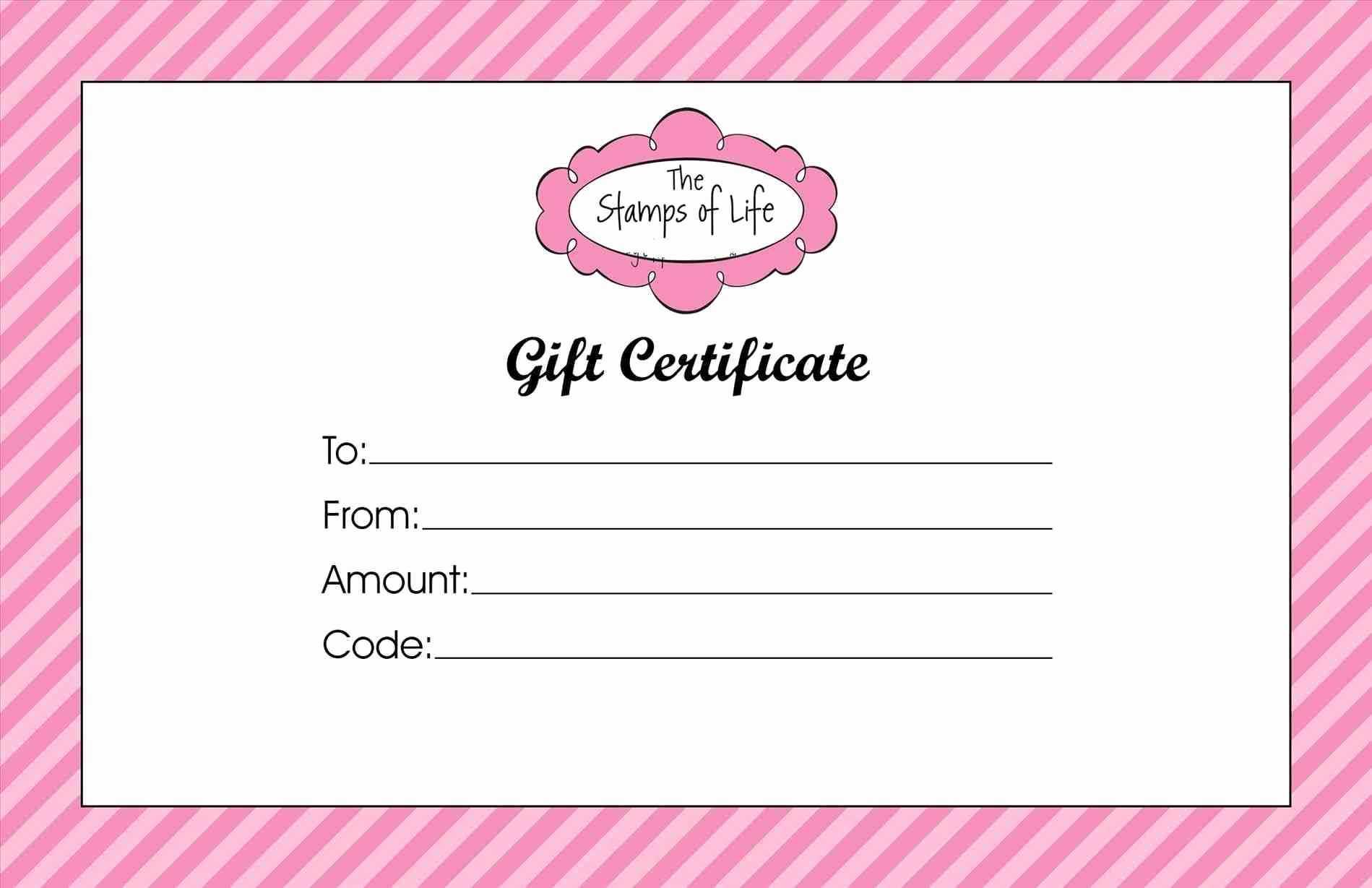Beauty Gift Certificate Template - Karati.ald2014 Intended For Salon Gift Certificate Template