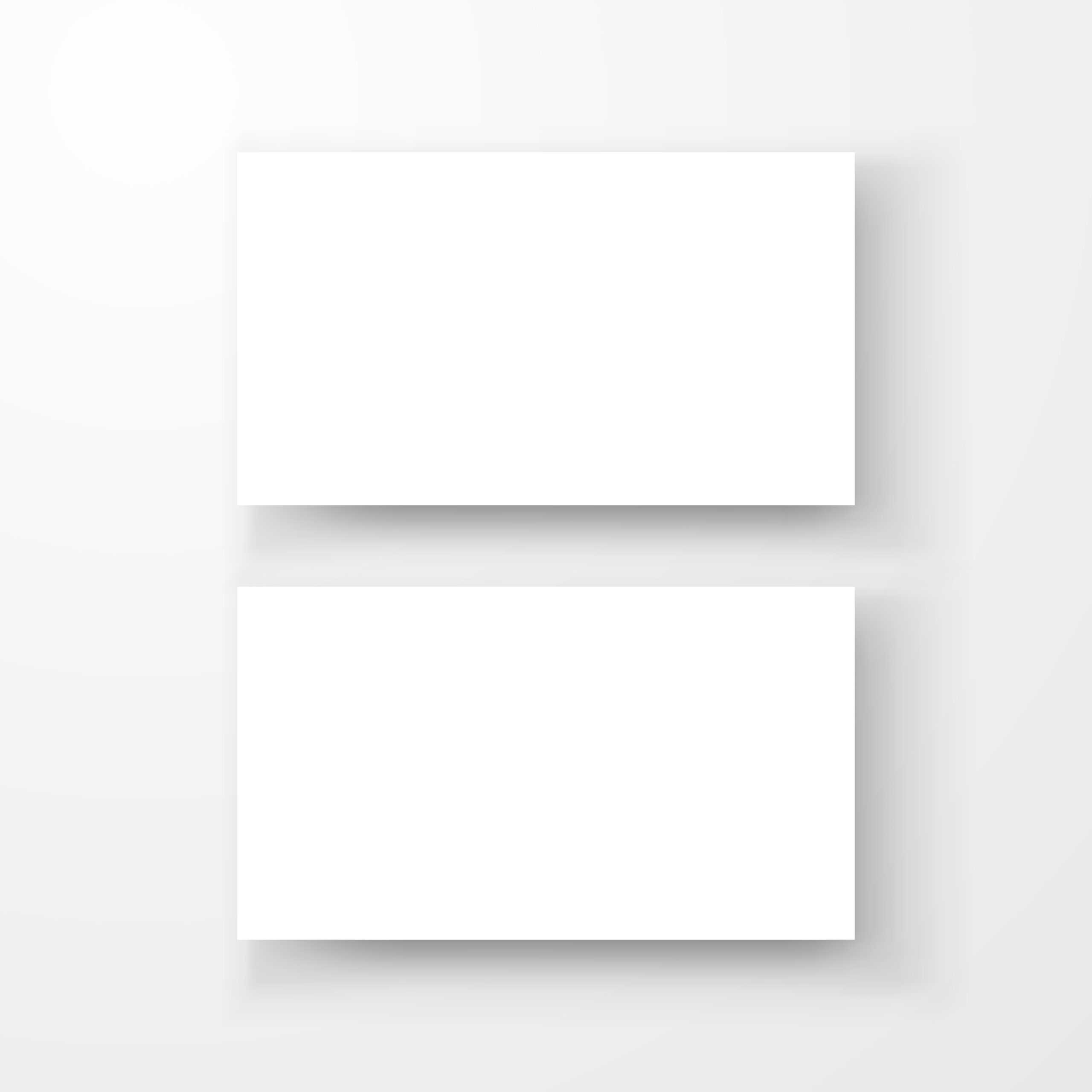 Blank Business Card Mockup Template Createdvector Within Blank Business Card Template Download