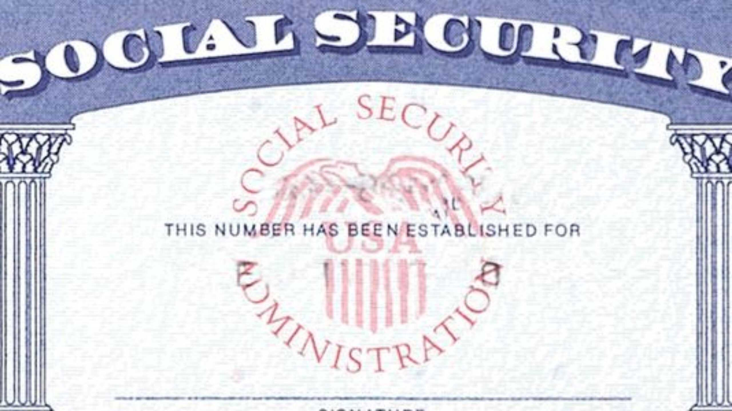 Blank Social Security Card Template Download - Great Regarding Ssn Card Template