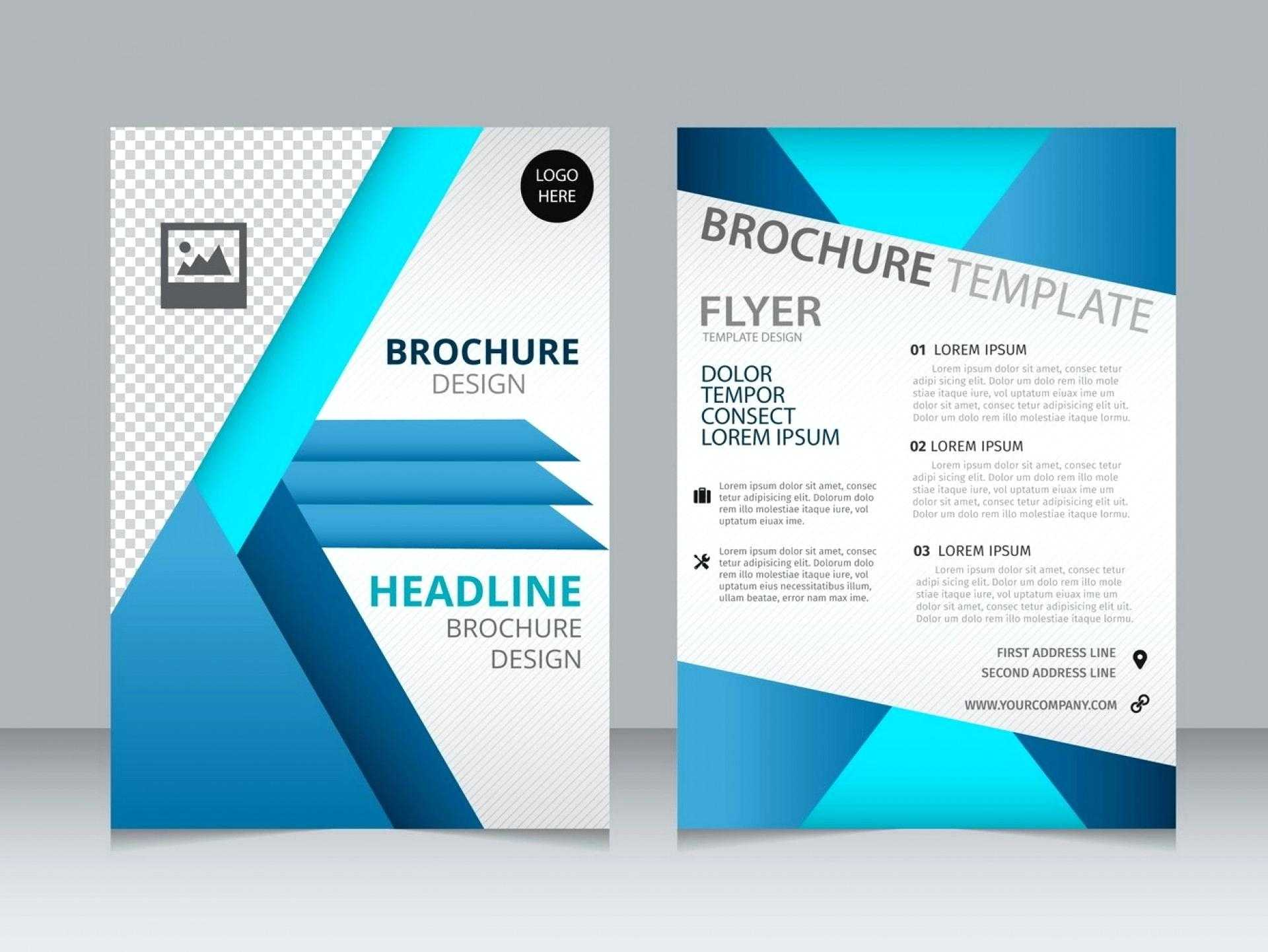 Booklet Template Word Download Lovely 7 Leaflet Free Tri Regarding Microsoft Word Brochure Template Free