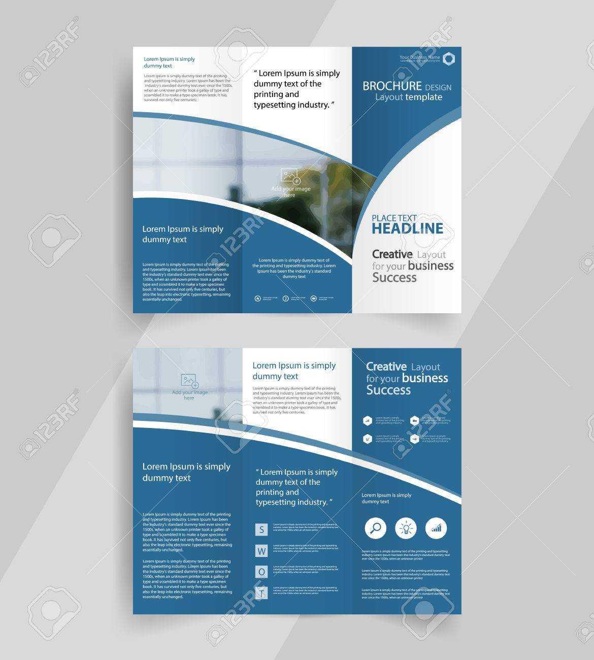 Brochure Layout - Karan.ald2014 Within Good Brochure Templates