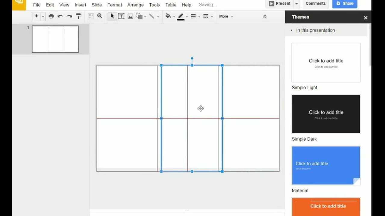 Brochure (Step 1) - Google Slides - Creating A Brochure Template In Google  Slides Regarding Brochure Template For Google Docs