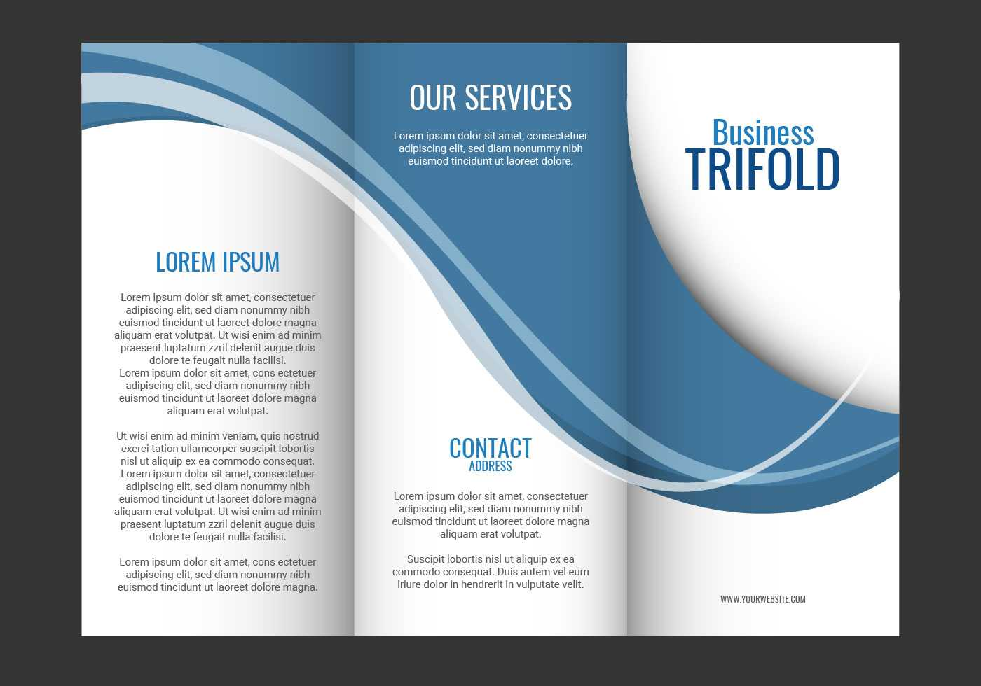 Brochure Template Free Vector Art - (80,429 Free Downloads) For Fancy Brochure Templates