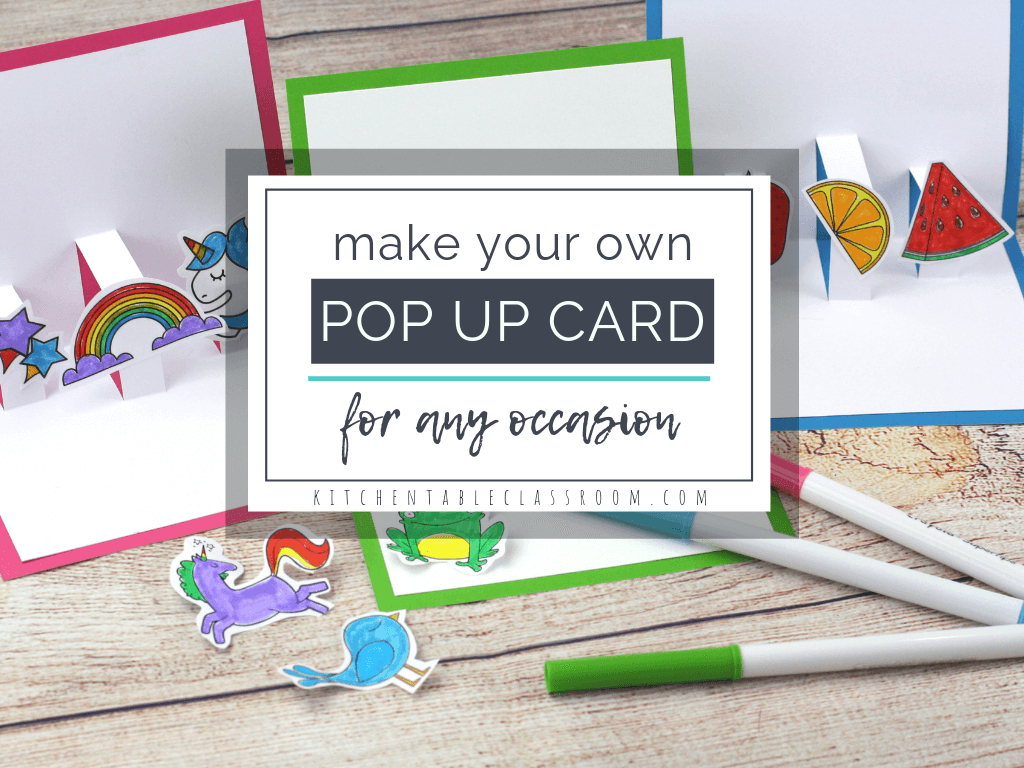 Build Your Own 3D Card With Free Pop Up Card Templates - The Intended For Printable Pop Up Card Templates Free