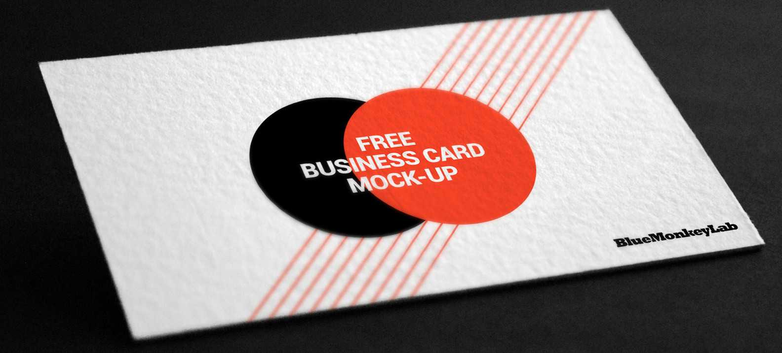 Business Card Mockup - Business Cards For Business Psd Inside Free Business Card Templates In Psd Format