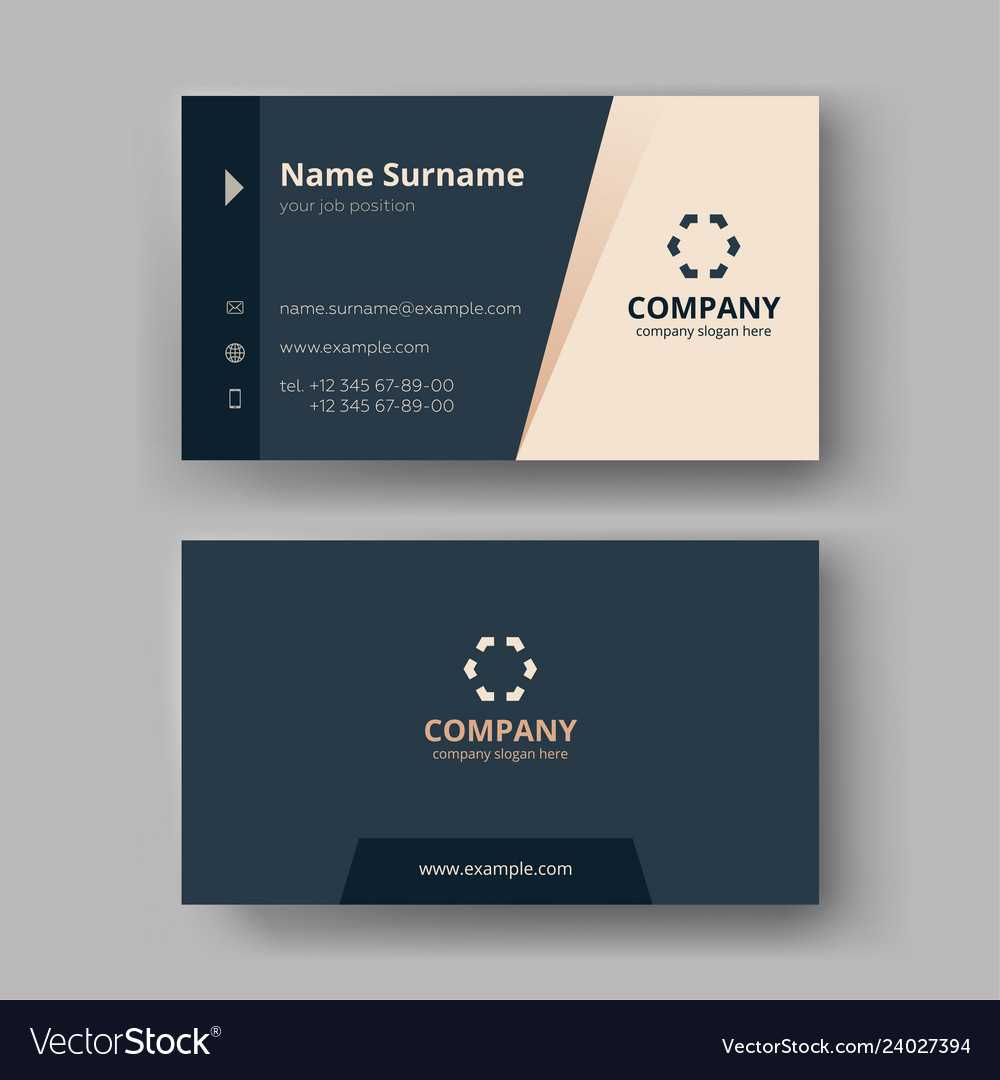 Business Card Templates With Company Business Cards Templates