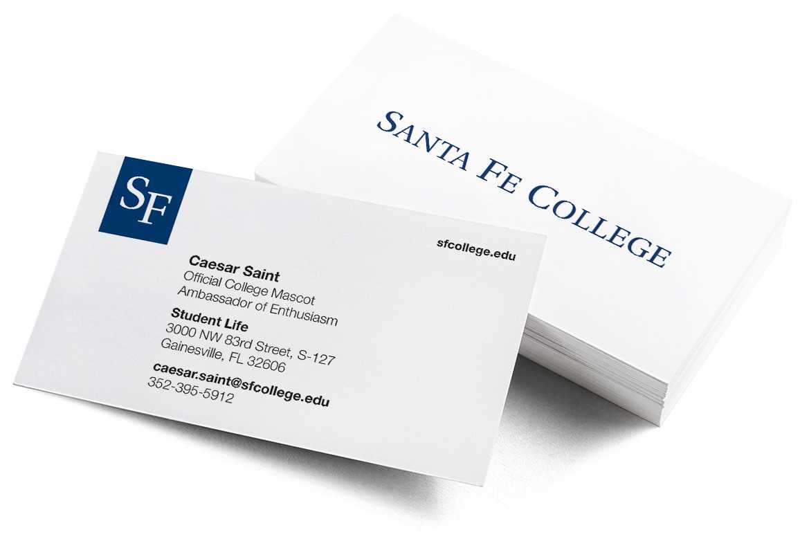 Business Cards With Student Business Card Template