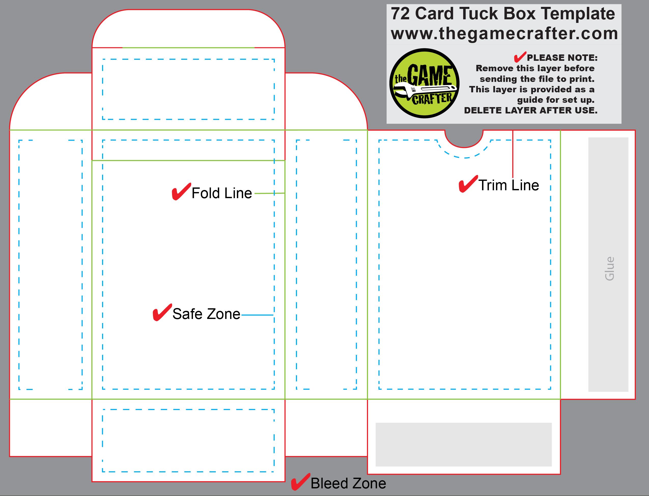 Card Box Template - Karati.ald2014 With Card Box Template Generator