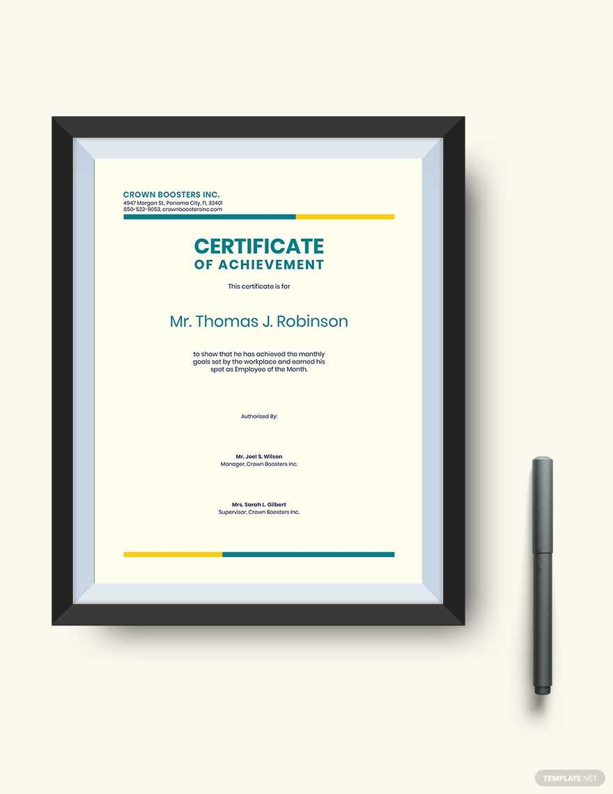 Certificate Of Achievement: Sample Wording & Content With Sales Certificate Template