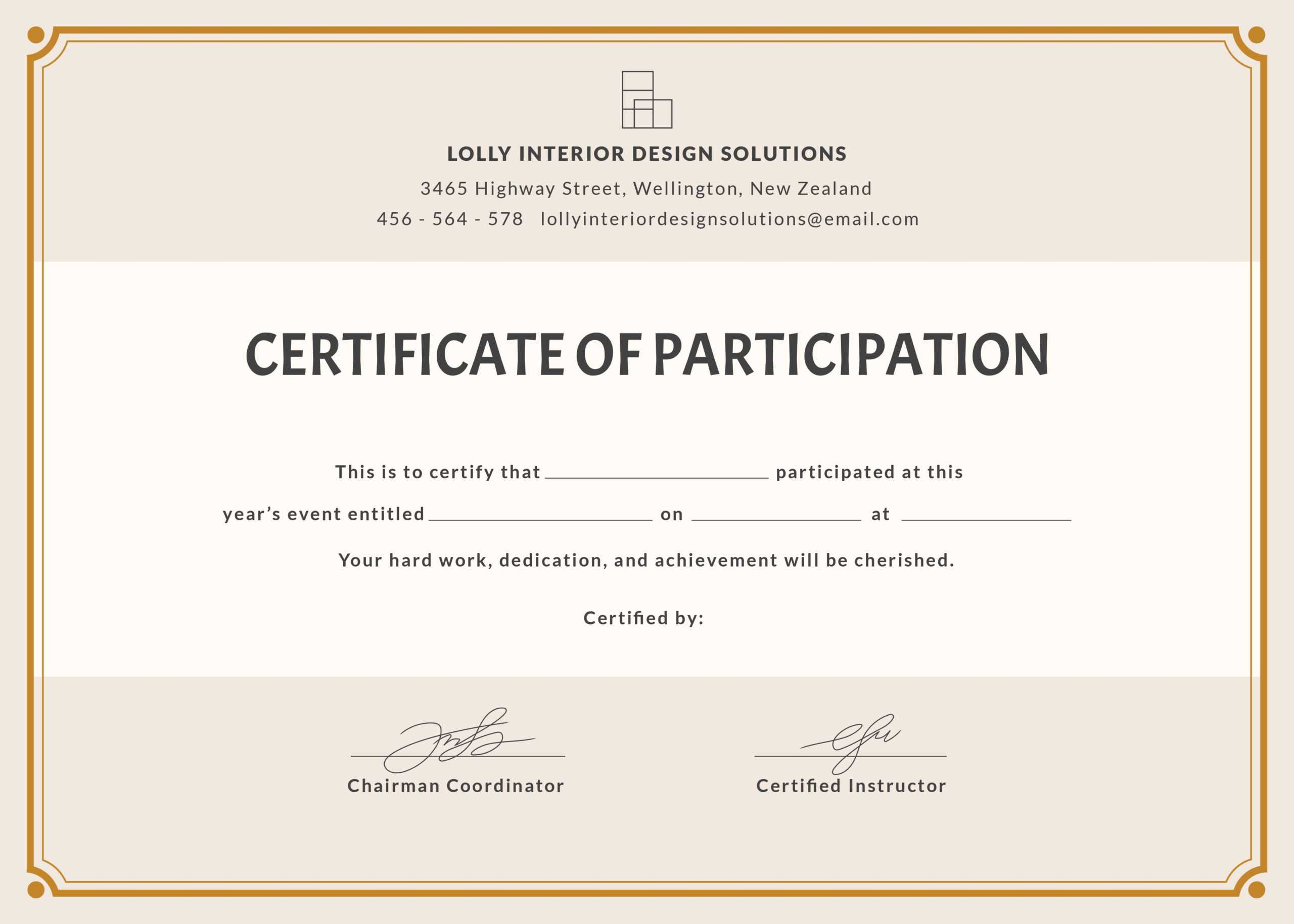 Certificate Of Participation Wording - Karan.ald2014 Inside Free Templates For Certificates Of Participation