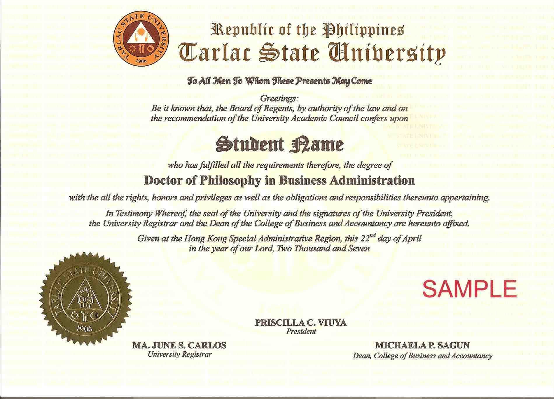 Certificate Phd Transparent & Png Clipart Free Download - Ywd With Doctorate Certificate Template