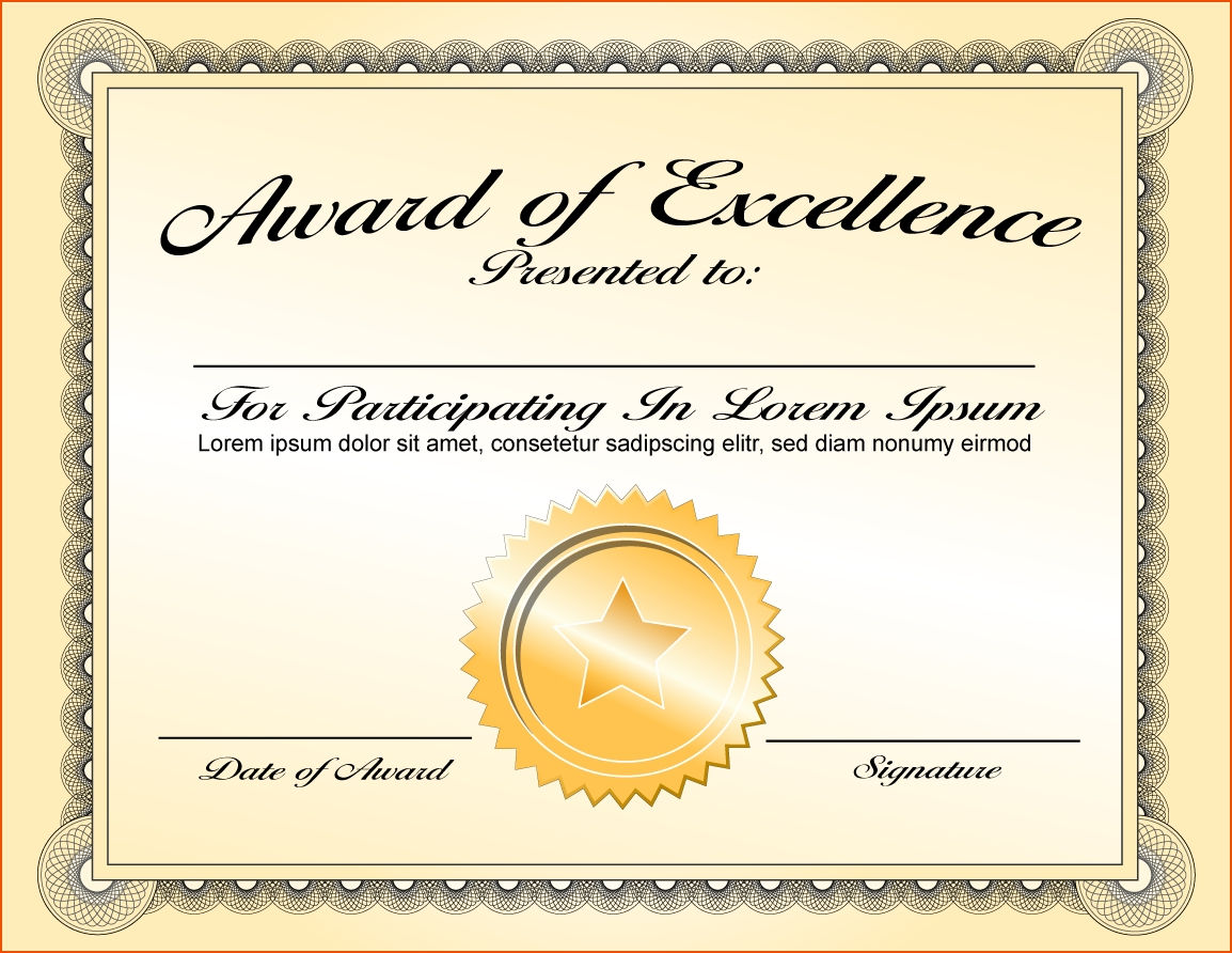 Certificate Template Award | Safebest.xyz With Microsoft Word Award Certificate Template