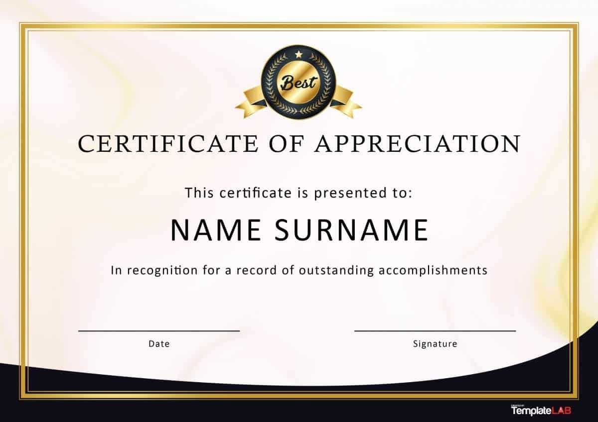 Certificate Template Recognition | Safebest.xyz Intended For Free Template For Certificate Of Recognition