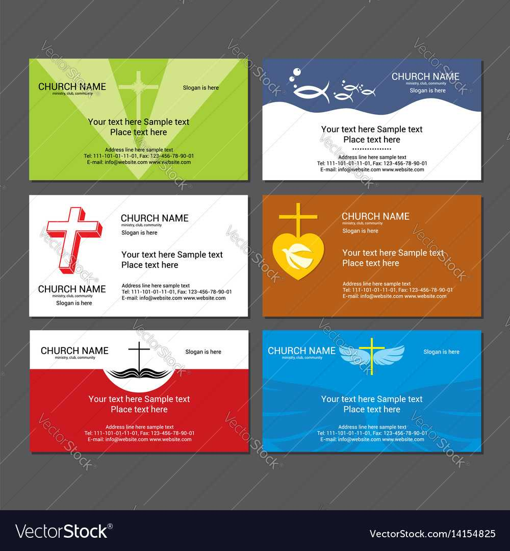 Christian Business Cards Templates Free - Great Sample Templates With Christian Business Cards Templates Free